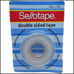 SELLOTAPE 960600 DOUBLE SIDED TAPE WITH LINER 12MM X 10M POLYPROPYLENE