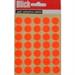 BLICK LABEL FLUO BAG 13MM RED 140 004554