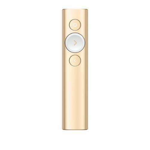 Logitech Spotlight wireless presenter Bluetooth/RF Gold