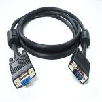 """4XEM VGA, M/F, 100 ft. VGA cable 1200"""" (30.5 m) VGA (D-Sub) Black"""