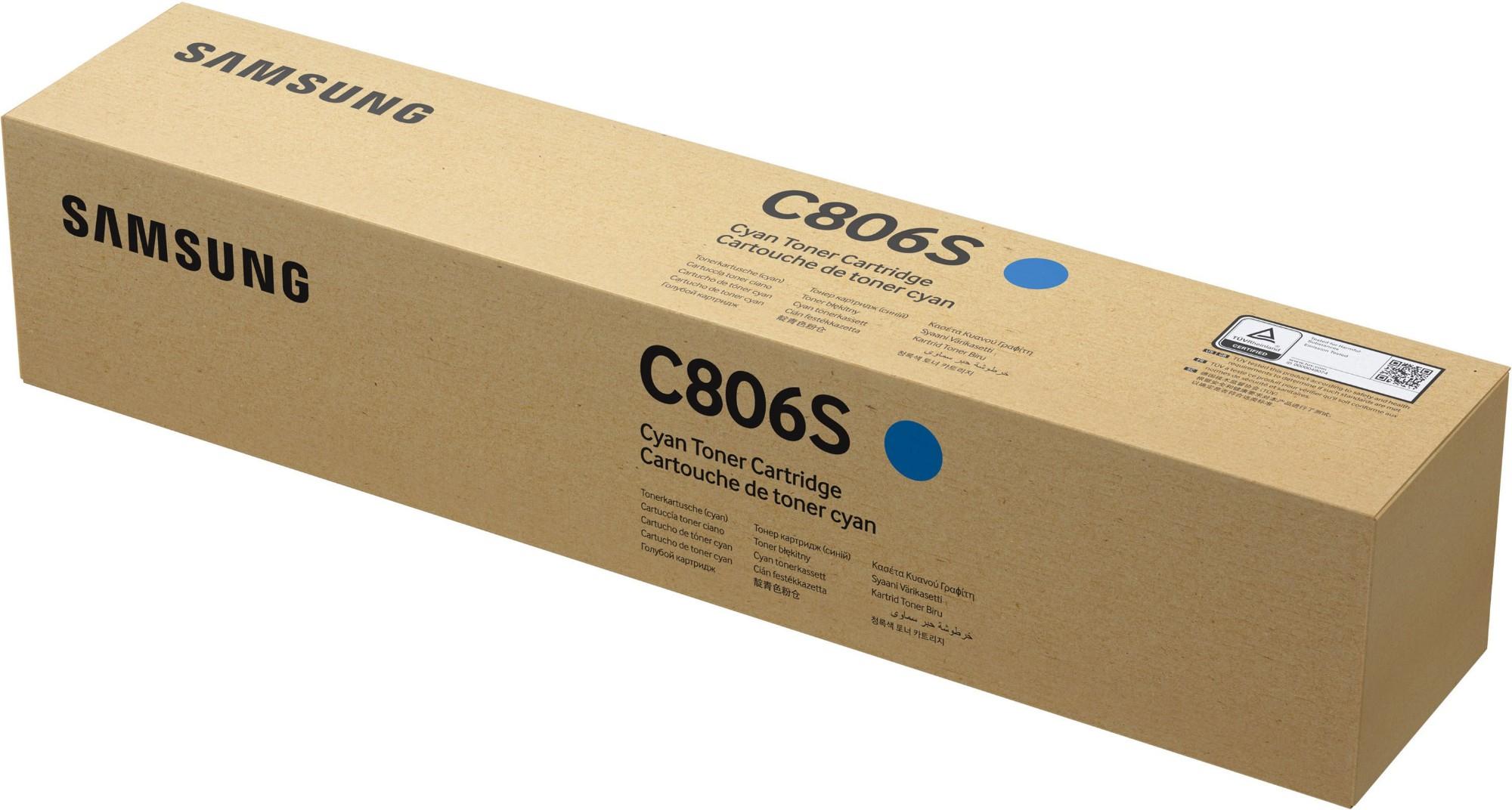 Samsung CLT-C806S Original Cian 1 pieza(s)