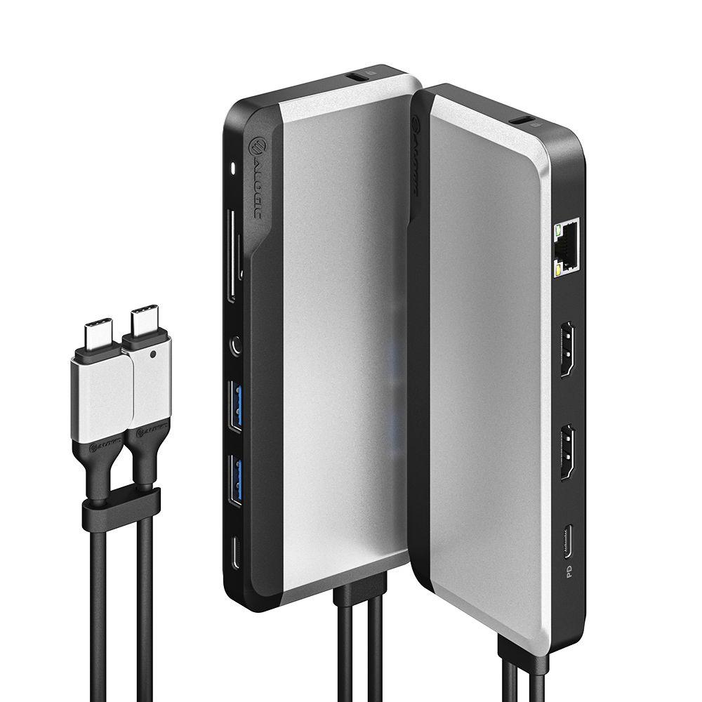 ALOGIC 10-in-1 Dual USB-C Super Dock