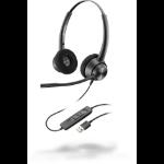 POLY EncorePro 320 Headset Head-band USB Type-A Black