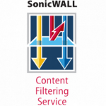 DELL SonicWALL Content Filtering Service Standard Edition for TZ 180 Series 10 & 25 Node (1 year) 1year(s)