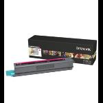 Lexmark C925H2MG Toner magenta, 7.5K pages