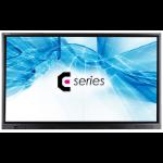 Avocor E8610 2,18 m (86 Zoll) LED 4K Ultra HD Interactive flat panel Schwarz