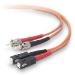 Belkin Cable/Patch Multi Mode ST SC Duplex 3m