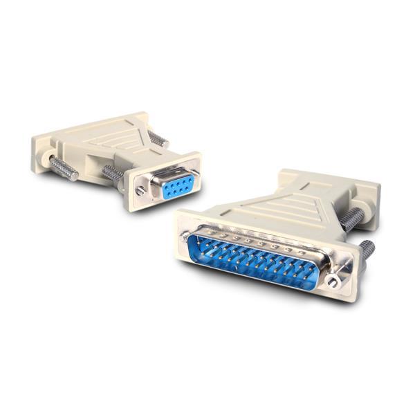 StarTech.com Adaptador de cable serie DB9 a DB25 - H/M