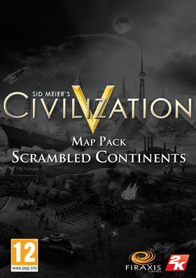 Nexway Civilization V - Scrambled Continents Map Pack, PC Video game downloadable content (DLC) Sid Meier's Civilization V Español