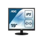 "AOC Essential-line I960SRDA LED display 48.3 cm (19"") 1280 x 1024 pixels HD Black"