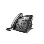 POLY 301 IP phone Black 6 lines LCD