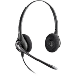Plantronics SupraPlus D261N Binaural Head-band Black headset