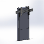 Chief Medium Fusion Dynamic Height Adjustable Floor Support