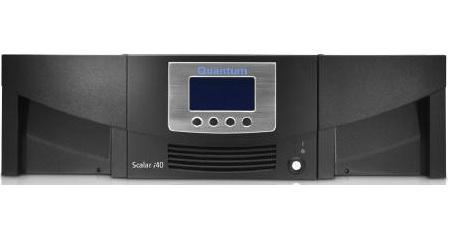 Quantum Scalar i40 37500GB 3U Black tape auto loader/library