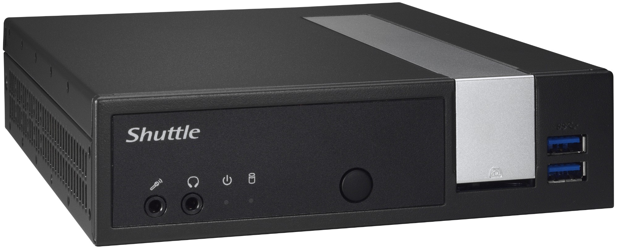 Shuttle XPÐ¡ slim DL10J Intel SoC 2GHz J4005 Black PC/workstation barebone