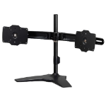 "Amer AMR2S32 32"" Freestanding Black flat panel desk mount"