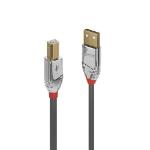 Lindy 36642 USB cable 2 m USB 2.0 USB A USB B Grey