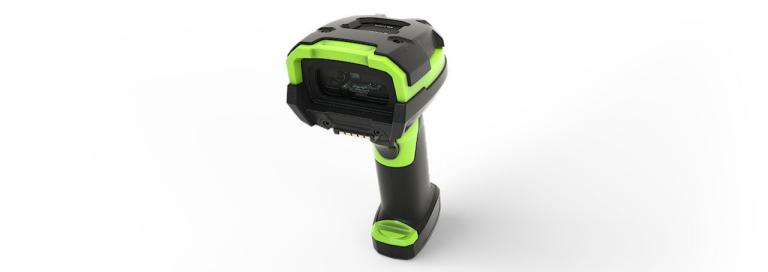 Zebra LI3678 1D Black,Green Handheld bar code reader