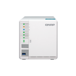 QNAP TS-351 NAS Tower Ethernet LAN White J1800