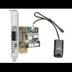 Hewlett Packard Enterprise Smart Array P431/4GB FBWC 12Gb 2-ports Ext SAS PCI Express x8 3.0 12Gbit/s RAID controller