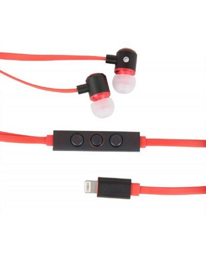 Urban Factory Earphones using Lightning port - Red