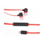 Urban Factory Earphones using Lightning port - Red