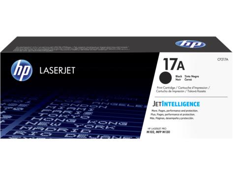 HP CF217A (17A) Toner black, 1.6K pages