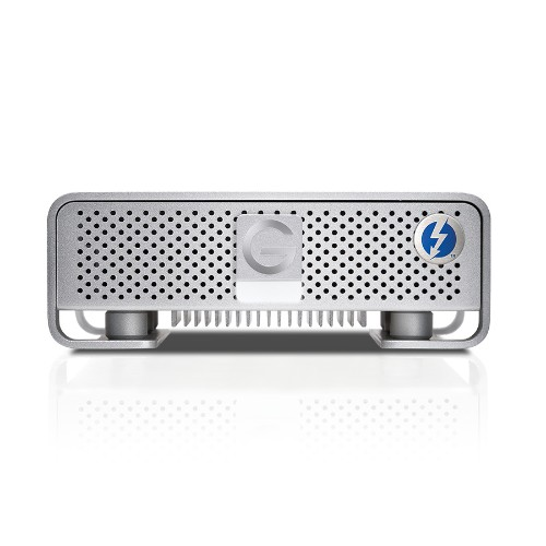 G-Technology 4 TB G-DRIVE with Thunderbolt (with USB 3.0) External Hard Drive - Silver
