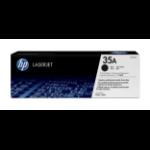 HP 35A Origineel Zwart 1 stuk(s)
