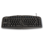 Goldtouch Whilst Stocks Last - Goldtouch Keyboard Danish layout Black .