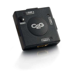 C2G 89051 interruptor de video HDMI
