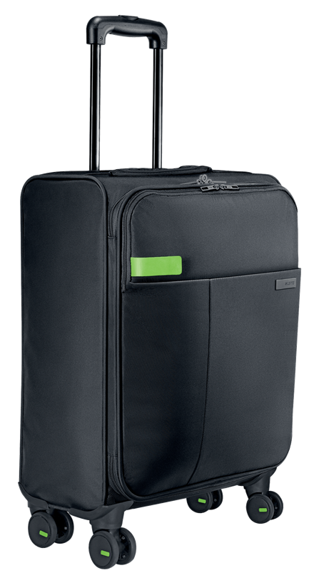 4WHEEL CARRY-ON TROLLEY COMPLETE BLACK