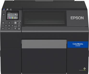 Epson ColorWorks CW-C6500AE impresora de etiquetas Inyección de tinta Color 1200 x 1200 DPI Alámbrico