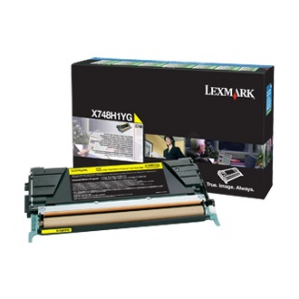 Lexmark X748H3YG Toner yellow, 10K pages