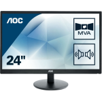 "AOC Basic-line M2470SWDA2 computer monitor 59.9 cm (23.6"") 1920 x 1080 pixels Full HD LED Flat Black"