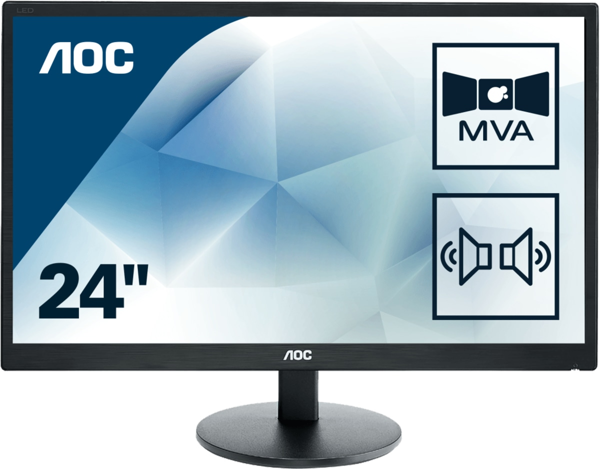 Monitor LCD 23.6in M2470swda2 178/178 1080p 250cd/m2 1000:1 4ms D-sub DVI