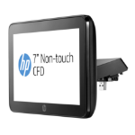 HP RP9 geïntegreerd 7-inch NT CFD-display met arm