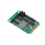 Siig 4-Port RS232 Mini PCIe interface cards/adapter Serial Internal