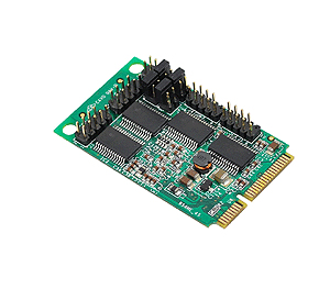 Mini Pci-e Board With 4 Serial Ports