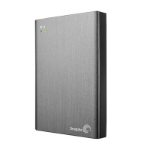Seagate Wireless Plus 2TB Wi-Fi 2000GB Grey external hard drive