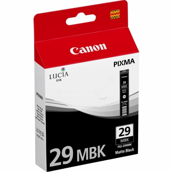 Canon 4868B001 (PGI-29 MBK) Ink cartridge black matt, 1.93K pages, 36ml
