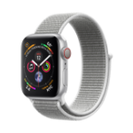 Apple Watch Series 4 smartwatch OLED Silver 4G GPS (satellite)