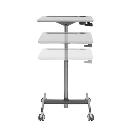 Ergotron 24-687-057 multimedia cart/stand Multimedia stand Grey,White