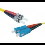 Hypertec 392318-HY fibre optic cable 20 m SC ST OS2 Yellow
