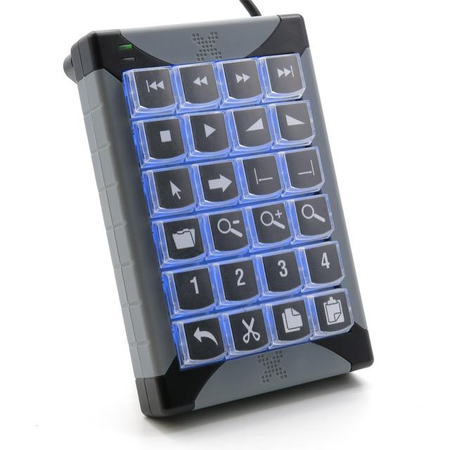 PI Engineering X-Keys Desktop USB 24 keys