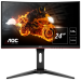 "AOC Gaming C24G1 LED display 61 cm (24"") 1920 x 1080 Pixeles Full HD Curva Mate Negro, Rojo"