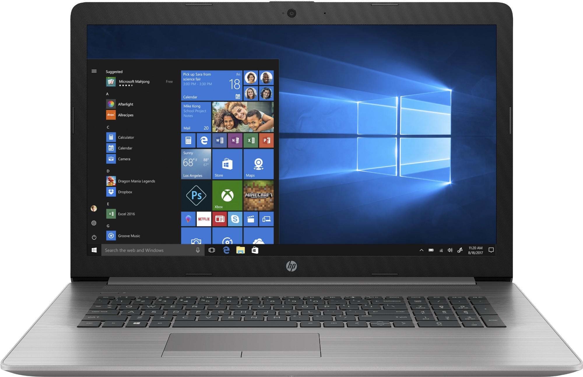 HP 470 G7 Notebook Silver 43.9 cm (17.3