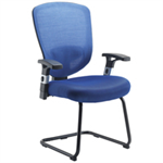 Arista FF LEXI ARISTA MESH VISITORS CHAIRBLUE