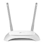 TP-LINK TL-WR840N router inalámbrico Banda única (2,4 GHz) Ethernet rápido Gris, Blanco