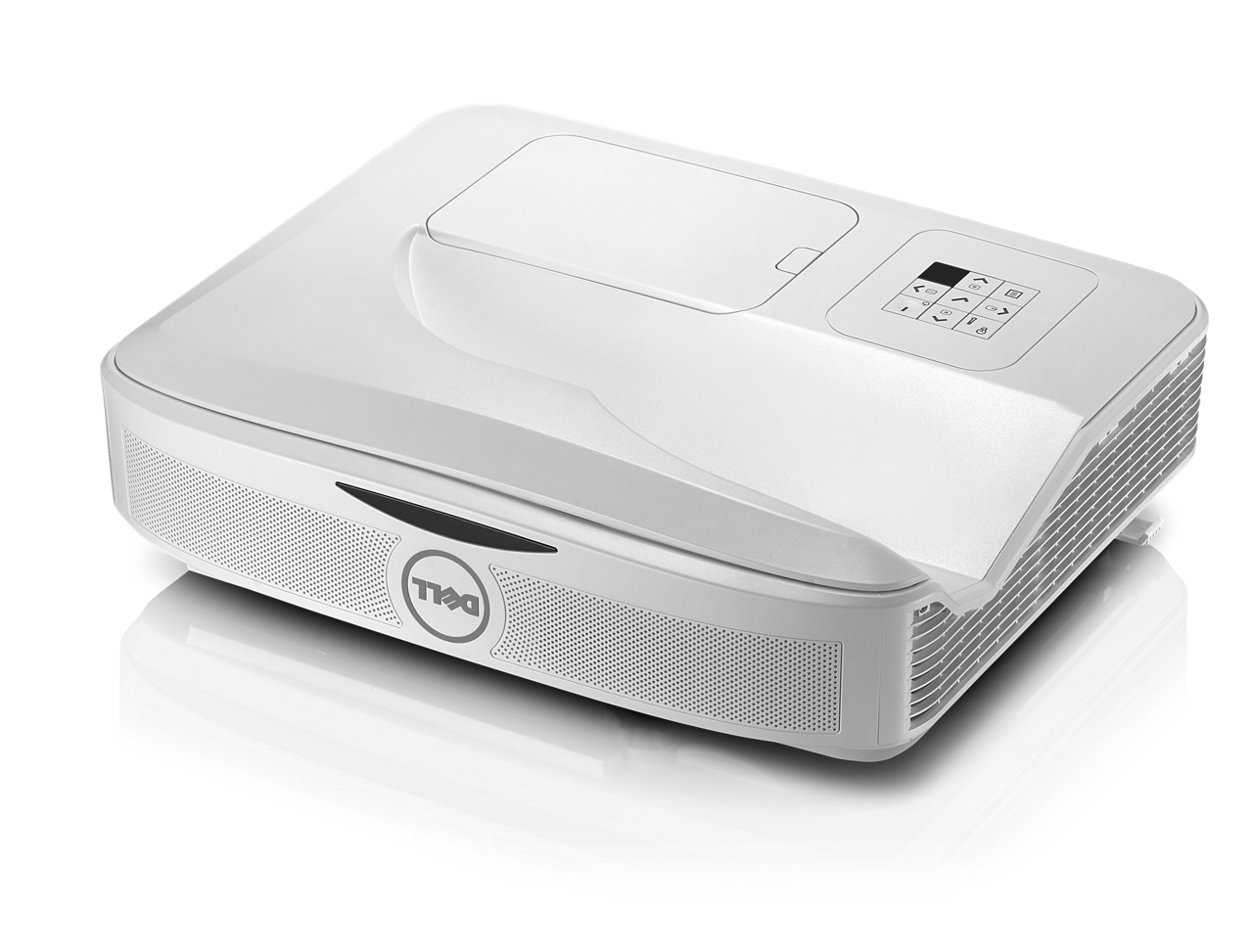 Dell S560P - DLP projector - 3400 ANSI lumens - Full HD (1920 x 1080) - 16:9 - 1080p - with 2 years
